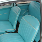 Interieur turquoise