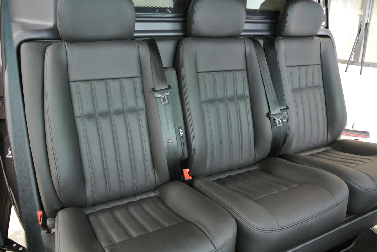 Mercedes vito leder allround bekleding for Auto interieur spuiten