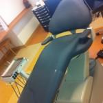 Tandartsstoel bekleed