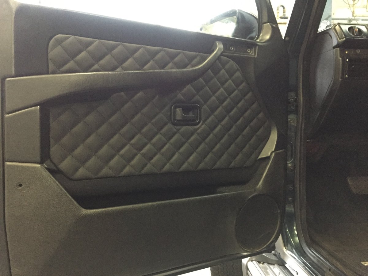 Leder interieur allround bekleding for Interieur auto bekleden